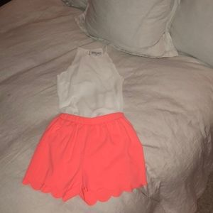 Hot Pink Everly Shorts